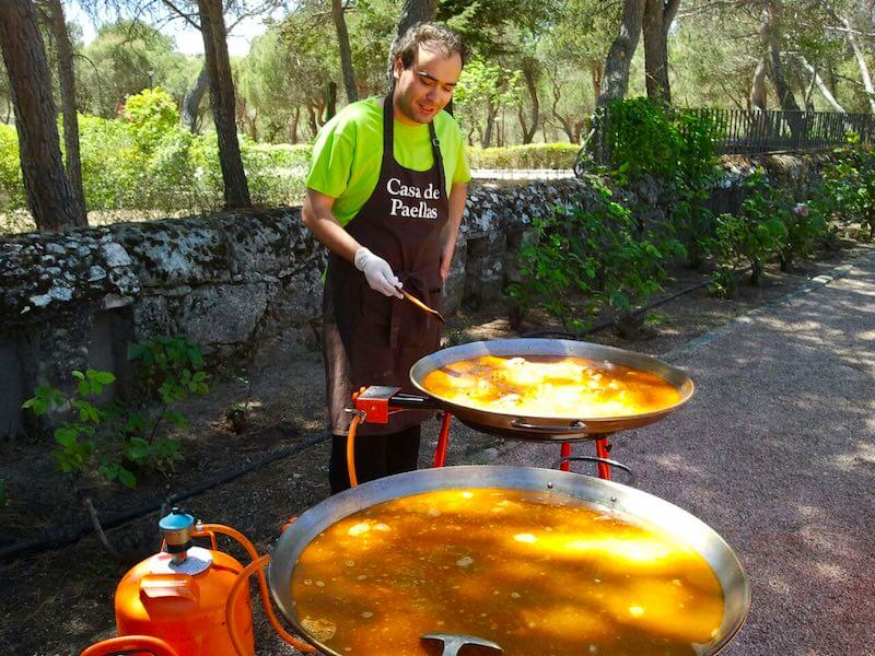 show cooking- casa de paellas 1