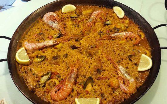 Paella Mariscos- casa de paellas