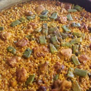 paella valenciana- casa de paellas