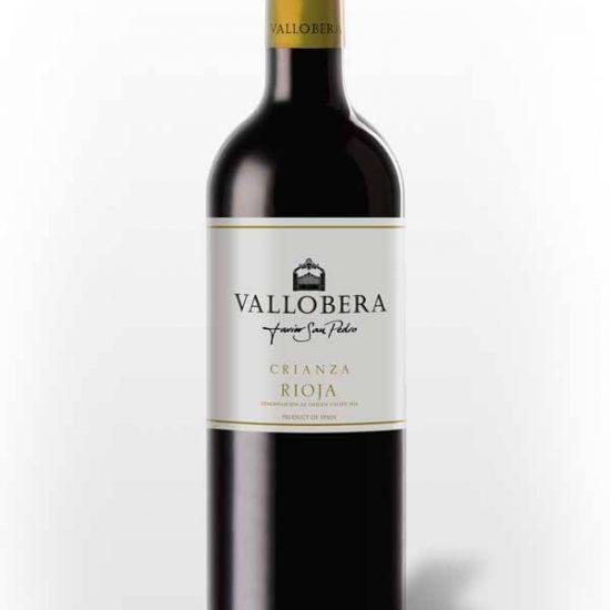 vino Vallobera crianza- casa de paellas